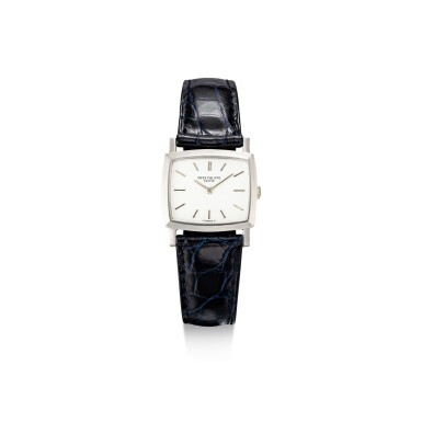 PATEK PHILIPPE | REFERENCE 3352, A WHITE GOLD WRISTWATCH, CIRCA 1970