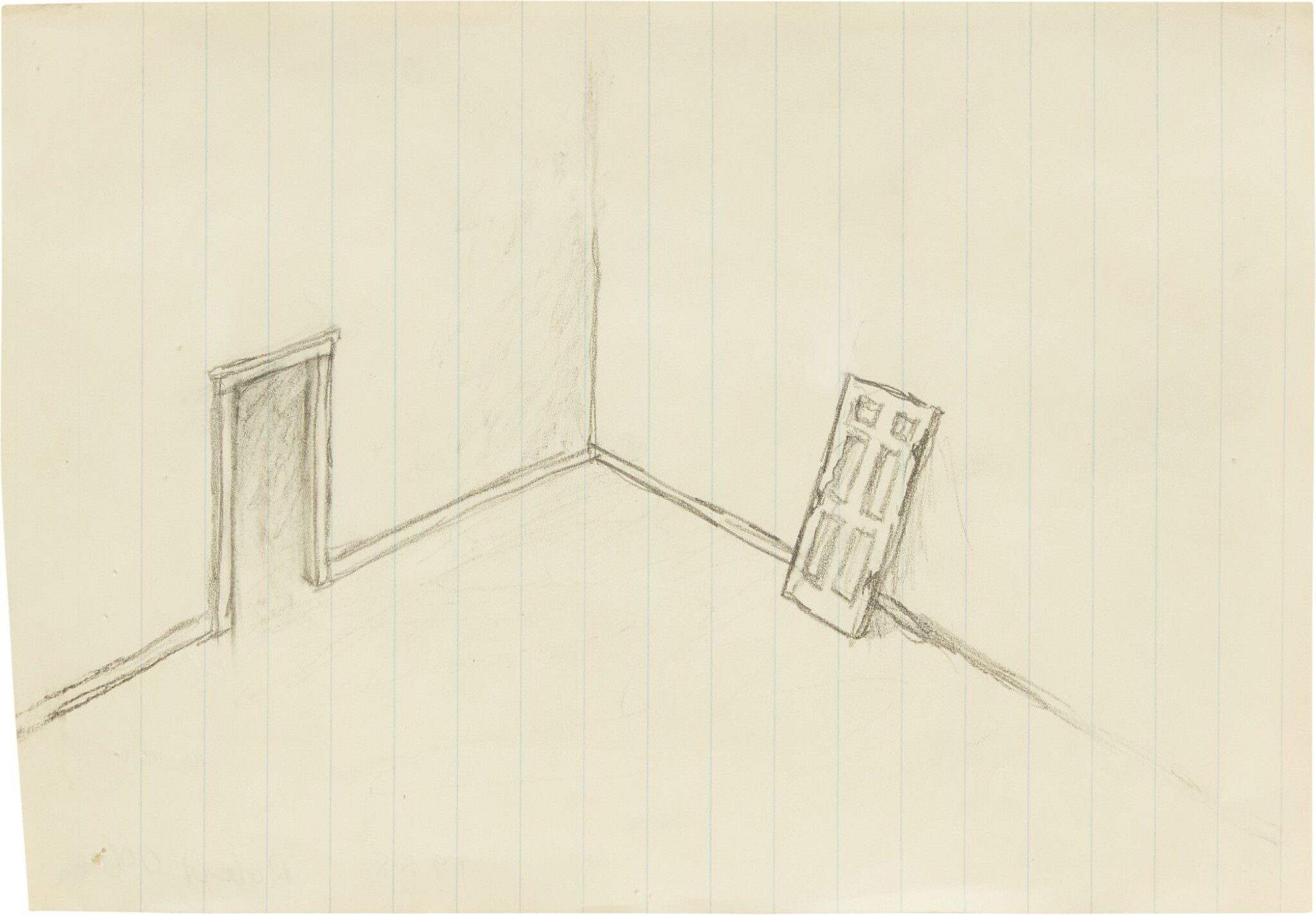 View full screen - View 1 of Lot 122. Untitled (Door).