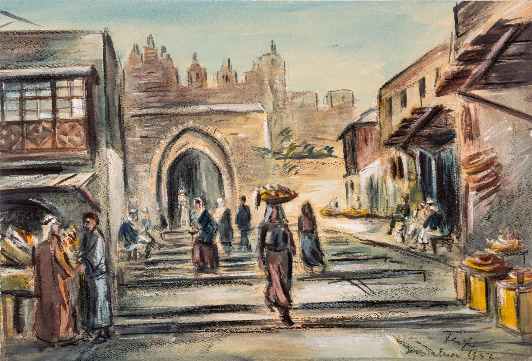 View full screen - View 1 of Lot 5. BEDŘICH FEIGL   Jerusalem .