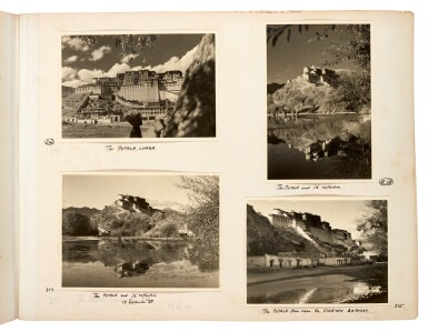 View 7. Thumbnail of Lot 182. Tibet—Shepheard and Jack | Two albums of photographs of Tibet, 1938, with diary transcript and related material.
