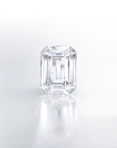 View 2. Thumbnail of Lot 1764. An Exceptional Unmounted Diamond   39.88克拉 方形 D色 完美無瑕 鑽石.