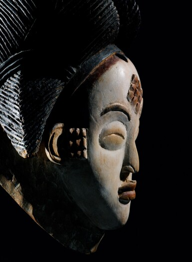 View 4. Thumbnail of Lot 41. Masque, Punu, Gabon | Punu mukuya mask.