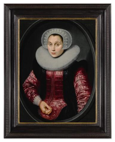 View 5. Thumbnail of Lot 518. Portrait of a man; Portrait of a woman.