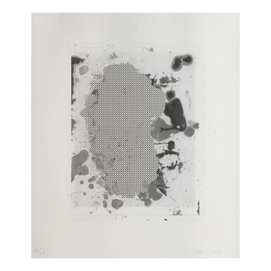 CHRISTOPHER WOOL | PORTRAITS (B/W): ONE PRINT