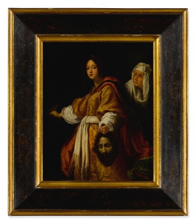 View 2. Thumbnail of Lot 543. AFTER CRISTOFANO ALLORI | JUDITH WITH THE SEVERED HEAD OF HOLOFERNES.