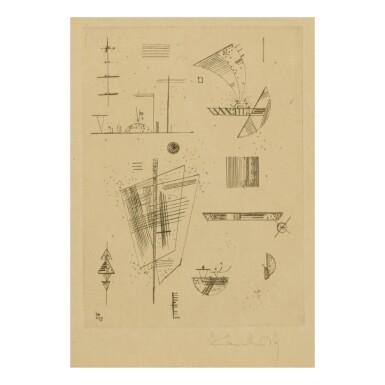 "View 1. Thumbnail of Lot 8. WASSILY KANDINSKY   ERSTE RADIERUNG FÜR DIE EDITIONS ""CAHIERS D'ART"" (ROETHEL 194)."