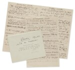 [DARWIN, CHARLES] | MANUSCRIPT LIST OF DARWIN'S PUBLICATIONS TO 1869, WITH AUTOGRAPH CORRECTIONS AND ADDITIONS IN HIS HAND