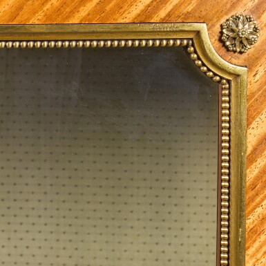 View 3. Thumbnail of Lot 17. A FRENCH GILT-BRONZE MOUNTED TULIPWOOD VITRINE, BY FRANÇOIS LINKE, CIRCA 1900.