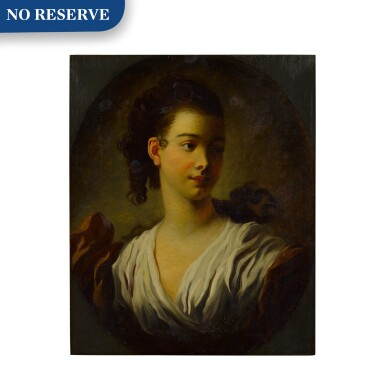 View 1. Thumbnail of Lot 84. Portrait of Madeleine Riggieri, called Adeline Colombe.