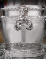 AN IMPORTANT PAIR OF WILLIAM III SILVER WINE COOLERS, DAVID WILLAUME, LONDON, 1700