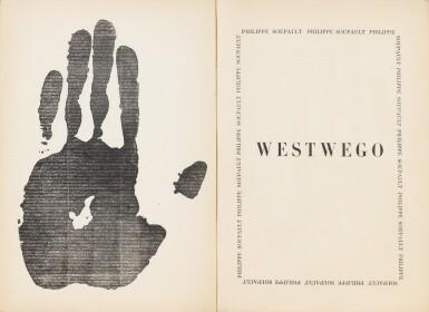 View 3. Thumbnail of Lot 177. Westwego. Poèmes. 1922. Rel. Jean de Gonet. Exemplaire de Marcel PROUST, avec envoi.