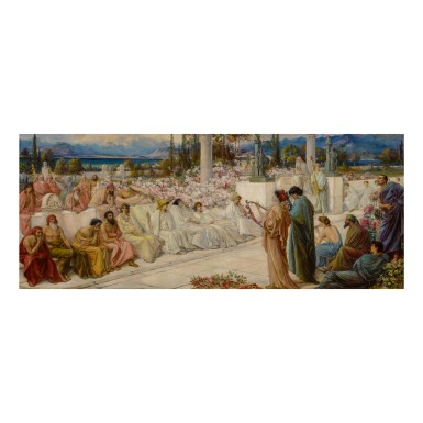 View 1. Thumbnail of Lot 3. THOMAS RALPH SPENCE | THE DISCIPLES OF SAPPHO.