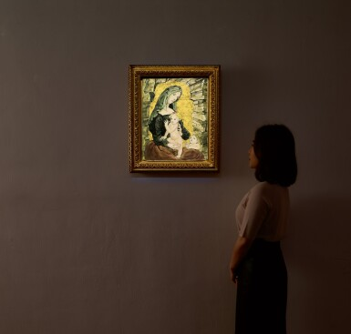 View 4. Thumbnail of Lot 1037. Léonard Tsuguharu Foujita 藤田嗣治 | Maternité 聖母子像.