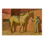 SIR ALFRED JAMES MUNNINGS, P.R.A., R.W.S. | MY HORSE ANARCHIST