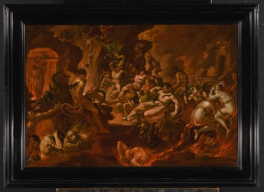 View 2. Thumbnail of Lot 509. Hell scene.