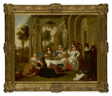 View 2. Thumbnail of Lot 210. FLEMISH SCHOOL, 18TH CENTURY | THE PRODIGAL SON.