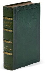 Dickens, The Posthumous Papers of the Pickwick Club, 1837, possible special publisher's binding