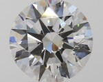 A 1.30 Carat Round Diamond, H Color, VS2 Clarity