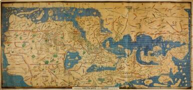 View 1. Thumbnail of Lot 37. Al-Idrisi | Charta Rogeriana. Weltcarte des Idrisi, 1154 [but Stuttgart: Konrad Miller, 1928].