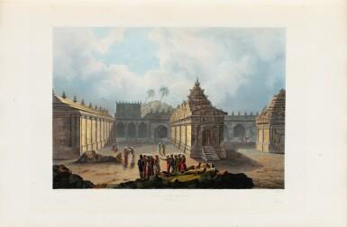 View 5. Thumbnail of Lot 215. LAPLACE. Voyage autour du monde de l'Inde et de Chine. 1833-1840. 7 volumes, dont 2 atlas et Zoologie..