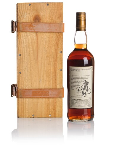 View 2. Thumbnail of Lot 37. THE MACALLAN 25 YEAR OLD ANNIVERSARY MALT 43.0 ABV 1975  .