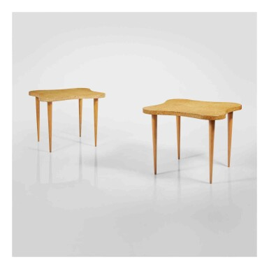 View 1. Thumbnail of Lot 354. A Pair of Important Side Tables.
