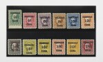 Post Offices in China 1919-21 2c-$2.00 (K1-K18)