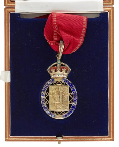 View 1. Thumbnail of Lot 17. COMPANION OF HONOUR, 1984, AWARDED BY QUEEN ELIZABETH II.