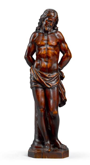 ITALIAN, 18TH CENTURY   CHRIST AT THE COLUMN