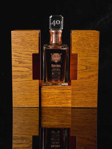 View 2. Thumbnail of Lot 385. BRORA LIMITED EDITION 40 YEAR OLD 59.1 ABV 1972   .