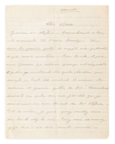 View 6. Thumbnail of Lot 120.  Importante correspondance à Violette Leduc dévoilant leur amitié littéraire. 297 lettres.