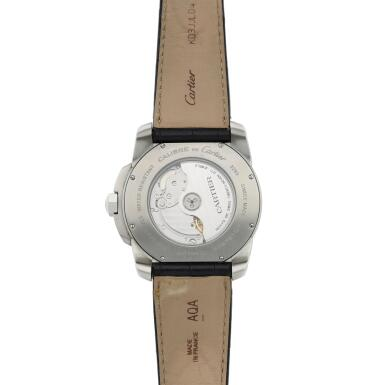 View 5. Thumbnail of Lot 132. Reference 3299 Calibre  A stainless steel automatic wristwatch with date, Circa 2010  .