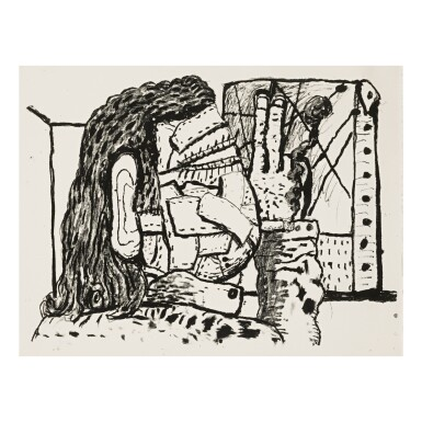 View 1. Thumbnail of Lot 202. PHILIP GUSTON | PAINTER.
