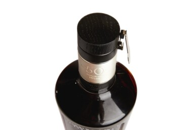 View 4. Thumbnail of Lot 323. BOWMORE BLACK, THE LAST CASK 50 YEAR OLD, 41.0 ABV 1964  .