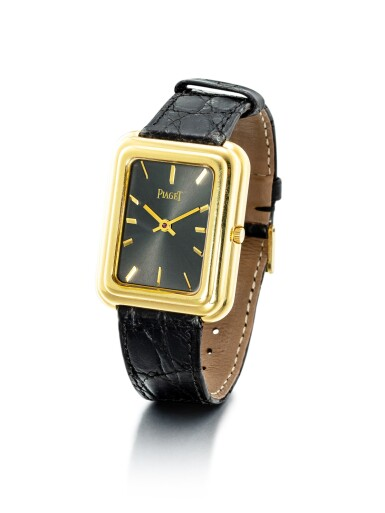 View 2. Thumbnail of Lot 1105. PIAGET   REFERENCE 4101, A YELLOW GOLD WRISTWATCH WITH BETA 21 MOVEMENT, CIRCA 1970.
