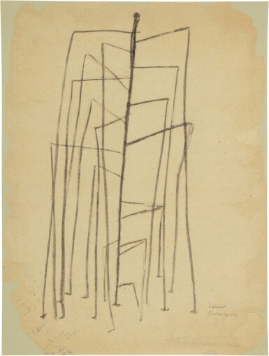 View 1. Thumbnail of Lot 256. LOUISE BOURGEOIS | UNTITLED.