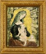 Léonard Tsuguharu Foujita 藤田嗣治 | Maternité 聖母子像