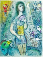 MARC CHAGALL | LE CIRQUE: ONE PLATE (M. 521; C. BKS. 68)