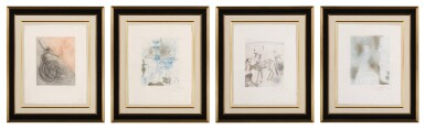 View 2. Thumbnail of Lot 41. The Hippies: Four Plates (M. & L. 377, 379, 383, 387; F. 69-13 D, F, I, J).
