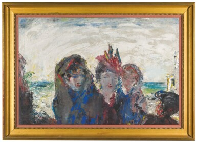 View 2. Thumbnail of Lot 20. JACK B. YEATS, R.H.A.    A PARIS OF THE WEST /  A PARIS COME TO JUDGMENT IN THE WEST.