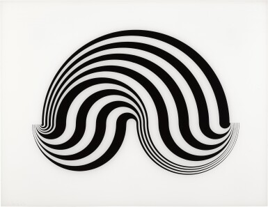 BRIDGET RILEY | UNTITLED (FRAGMENT 5) (S. 5E)