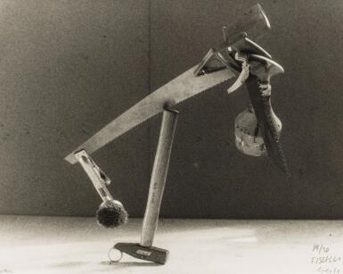 View 1. Thumbnail of Lot 59. PETER FISCHLI & DAVID WEISS | 'DIE MISSBRAUCHTE ZEIT' (TIME ABUSED), 1985.