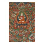 A THANGKA DEPICTING TSONGKHAPA, TIBET, 18TH/19TH CENTURY