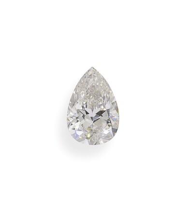A 2.27 Carat Pear-Shaped Diamond, I Color, Internally Flawless