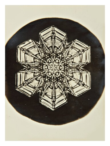 View 7. Thumbnail of Lot 142. WILSON A. BENTLEY | SELECTED IMAGES OF SNOWFLAKES.