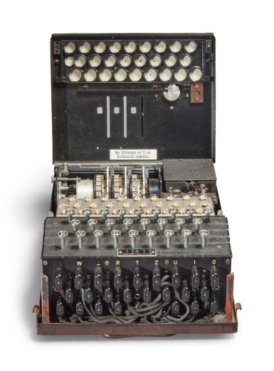 View 8. Thumbnail of Lot 55. A Fully Operational Enigma I in Original Condition.