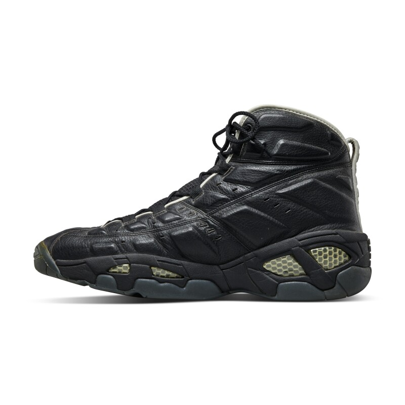Reebok Shaquille O'Neal Game Worn Dual Signed Pumps PE