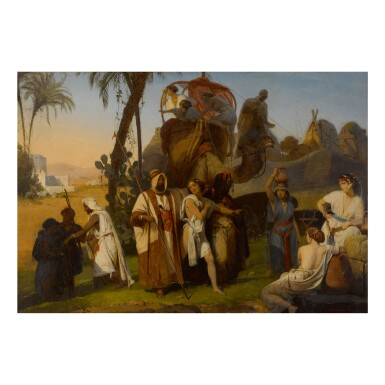 HENRI FRÉDÉRIC SCHOPIN | JOSEPH BEING SOLD BY HIS BROTHERS