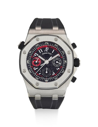 AUDEMARS PIGUET | ROYAL OAK OFFSHORE ALINGHI POLARIS, REFERENCE 26040ST.OO.D002CA.01, A LIMITED EDITION STAINLESS STEEL FLYBACK CHRONOGRAPH WRISTWATCH, CIRCA 2005