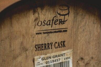 FIRST FILL OLOROSO SHERRY CASK OF GLEN GRANT 1995